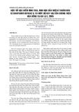MỘT SỐ ĐẶC ĐIỂM HÌNH THÁI, SINH HỌC CỦA NHỆN 2 CHẤM NÂU TETRANYCHUS URTICAE K. VÀ MỨC ĐỘ GÂY HẠI CỦA CHÚNG TRÊN HOA HỒNG TẠI ĐÀ LẠT, 2005