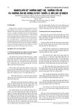 NGHIÊN CỨU VỀ TRƯỜNG NHIỆT ĐỘ, TRƯỜNG TỐC ĐỘ VÀ TRƯỜNG ẨM ĐỘ TRONG LÒ SẤY THUỐC LÁ ĐỐI LƯU TỰ NHIÊN