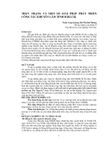 THỰC TRẠNG VÀ MỘT SỐ GIẢI PHÁP PHÁT TRIỂN CÔNG TÁC KHUYẾN LÂM TỈNH ĐĂKLĂK