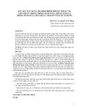 KẾT QUẢ XÂY DỰNG MÔ HÌNH TRÌNH DIỄN KỸ THUẬT TỈA THƯA RỪNG TRỒNG THÔNG ĐUÔI NGỰA THUẦN LOÀI VÀ THÔNG ĐUÔI NGỰA XEN KEO LÁ TRÀM Ở VÙNG DỰ ÁN KFW1