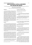NGHIÊN CỨU THIẾT KẾ - CHẾ TẠO - KHẢO NGHIỆM MÁY CHĂM SÓC MÍA HÀNG HẸP