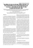 ẢNH HƯỞNG CỦA PHÂN LÂN ĐẾN SINH TRƯỞNG, NĂNG SUẤT, SỰ TỒN LƯU DINH DƯỠNG VÀ MẬT ĐỘ NẤM CỘNG SINH CỦA BẮP (Zea mays L.) TRÊN VÙNG ĐẤT XÁM TỈNH TÂY NINH VỤ ĐÔNG XUÂN NĂM 2004 -2005