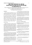 MỘT SỐ ĐẶC ĐIỂM HÌNH THÁI, SINH HỌC CỦA ỐC SÊN GÂY HẠI HOA LAN TẠI THỊ XÃ BẢO LỘC VÀ THÀNH PHỐ ĐÀ LẠT