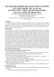 XÂY DỰNG QUI TRÌNH CHẨN ĐOÁN BẮP CÓ CHUYỂN CÁC GENE KHÁNG SÂU (CryIA [b]) VÀ GENE TĂNG CƯỜNG CHUYỂN HÓA ĐƯỜNG (Invertase) BẰNG KỸ THUẬT PCR