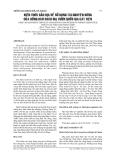 KIẾN THỨC BẢN ĐỊA VỀ SỬ DỤNG TÀI NGUYÊN RỪNG CỦA ĐỒNG BÀO CHÂU MẠ VƯỜN QUỐC GIA CÁT TIÊN