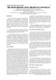 MỘT SỐ ĐẶC ĐIỂM CẤU TẠO VÀ TÍNH CHẤT CƠ LÝ CỦA KEO LAI