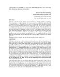 ẢNH HƯỞNG CỦA KỸ THUẬT GIEO ƯƠM TỚI SINH TRƯỞNG CÂY CON GIỔI BẮC (MICHELIA MACCLUREI DANDY)