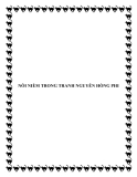 NỖI NIỀM TRONG TRANH NGUYỄN HỒNG PHI