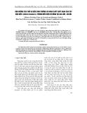 """Báo cáo """" Ảnh hưởng của thời vụ đến sinh trưởng và năng suất chất xanh của cây đậu biếc (Clitoria ternatea L.) trong điều kiện vụ đông tại Gia Lâm - Hà Nội """""""