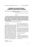 """Báo cáo """" Ảnh hưởng của B, Mo, Zn đến các chỉ tiêu sinh lý và năng suất lạc (Arachis hypogaea l.) ở Thừa Thiên Huế """""""