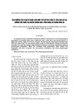 """Báo cáo """" Ảnh hưởng của stress nhiệt đến một số chỉ tiêu sinh lý của đàn bò lai hướng sữa nuôi tại huyện Nghĩ Đàn, tỉnh Nghệ An trong mùa hè """""""