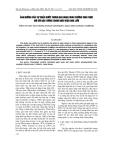 """Báo cáo """"Ảnh hưởng của sự thiếu nước trong giai đoạn sinh trưởng sinh thực đối với đậu tương trong điều kiện nhà lưới """""""