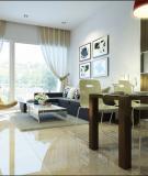 Tư vấn bố trí nội thất cho căn hộ chung cư, DT 78 m2