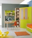 Thiết kế phòng ngủ 10m2 đầy màu sắc cho bé