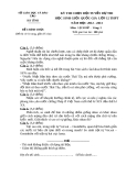 KỲ THI CHỌN ĐỘI TUYỂN DỰ THI HỌC SINH GIỎI QUỐC GIA LỚP 12 THPT NĂM HỌC 2012 - 2013.Môn: LỊCH SỬ - SỞ GIÁO DỤC VÀ ĐÀO TẠO HÀ TĨNH