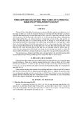 """Báo cáo """" Tông Hợp Điện Hóa Và Đặc Tính Chọn Lọc Cation Của Màng Polypyrol/dodecylsulfat """""""