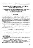 """Báo cáo """" Nghiên cứu điều chế mangan dioxit hoạt tính từ quặng pyrolusit Việt Nam. Phần 2. nghiên cứu điều chế mangan dioxit hoạt tính ở trạng thái phân tán cao theo phương pháp oxy hoá Mn(II) bằng KMnO4"""""""