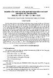 """Báo cáo """" Nghiên cứu chế tạo hỗn hợp bột ban đầu cho hợp kim nặng hệ tám nguyên W90 (Fe + Cr + Mn + C + Mo + Si)10"""""""