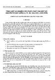 """Báo cáo """" Tổng hợp và nghiên cứu phức chất của một số nguyên tố đất hiếm (La, Pr, Nd, Sm) với L-Isolơxin"""""""