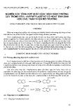 """Báo cáo """" Nghiên cứu tổng hợp chất kích thích sinh trưởng cây trồng Etyl 1-Naphtylaxetat có hoạt tính sinh học cao, thân thiện môi trường"""""""
