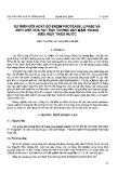 """Báo cáo """"Sự biến đổi hoạt độ Enzim Protease, Lipase và amylase của hạt đậu tương nảy mầm trong điều kiện thiếu nước """""""