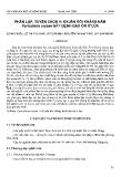 """Báo cáo """" Phân lập, tuyển chọn vi khuẩn đối kháng nấm Pyricularia oryzae bệnh đạo ôn lúa """""""
