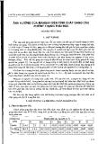 """Báo cáo """"ảnh hưởng của mangan đến tính chất gang cầu phrrit trạng thái đúc """""""