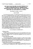 """Báo cáo """"Xác định loại gen mã hoá Dioxygenaza của chủng xạ khuẩn phân huỷ dibenzofuran Rhodococus Sp.HDN3 phân lập từ đất nhiễm chất diệt cỏ chưa dioxin tại Đà Nẵng """""""