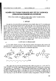 """Báo cáo """" Nghiên cứu thành phần hoá học rễ cây Xuân hoa (Pseuderanthenum Palatiferum)"""""""