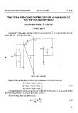 """Báo cáo """"Tính toán điện dung đường dây 500 kV hai mạch có thứ tự pha ngược nhau """""""