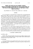 """Báo cáo """" Bước đầu khảo sát sự nhiễm Listeria Monocytogenes trong một số thực phẩm trên thị trường Hà Nội bằng kỹ thuật Polymerase chain reaction (PCR) """""""