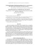 Ứng dụng phương pháp xác định hàm lượng aflatoxin (B1, B2, G1, G2) trong nguyên liệu và thức ăn chăn nuôi bằng máy sắc ký lỏng cao áp (HPLC)
