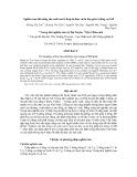 Nghiên cứu khả năng sản xuất của tổ hợp lai đơn và lai kép giữa 4 dòng vịt SM