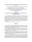 Trình tự Nucleotid đặc thù trong exon 2 gen myostatin của bò Lai sind và bò Vàng Việt Nam