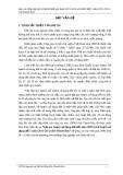 Lập quy hoạch sử dụng đất đến năm 2020 và kế hoạch sử dụng đất 5 năm (2011-2015) tỉnh Thanh Hóa