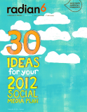 30 Ideas for your 2012 Social Media Plan
