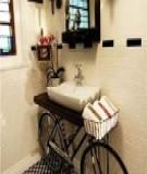 Độc đáo nội thất từ xe đạp