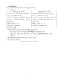 Bài tập môn Kế toán
