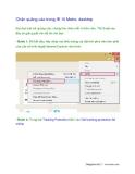 Chặn quảng cáo trong IE 10 Metro, desktop