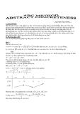 Phương pháp ABC chứng minh bất đẳng thức - NGUYỄN ANH CƯỜNG