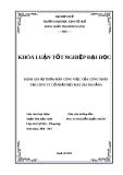 ĐÁNH GIÁ SỰ THỎA MÃN CÔNG VIỆC CỦA CÔNG NHÂN TẠI CÔNG TY CỔ PHẦN DỆT MAY 29/3 ĐÀ NẴNG