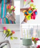 Hoa xinh trang trí tiệc