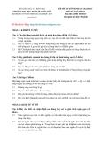 ĐỀ THI TUYỂN SINH SAU ĐẠI HỌC THÁNG 5 NĂM 2013 Môn thi: KINH TẾ HỌC