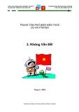 Bộ 9 kỹ năng mềm chương trình hợp tác Việt Nam – Thụy Sỹ– P. 3 Giải quyết vấn đề