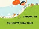 Bài giảng Tâm lý học - Chương 8 Sự học và nhận thức - GV. Nguyễn Xuân Long