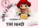 Bài giảng Tâm lý học - Chương 6 Trí nhớ - GV. Nguyễn Xuân Long