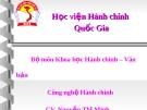 Tìm hiểu Tâm lý học đại cương - Nguyễn Thị Minh