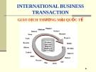 Các phương thức để giao dịch trên thị trường thế giới