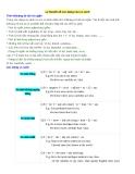 Lý thuyết về các dạng câu so sánh