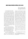 """Báo cáo """"HỘI NGHỊ THưỢNG ĐỈNH APEC 2012 """""""